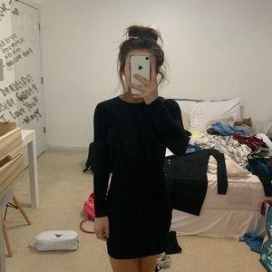 Dresses - black body con dress